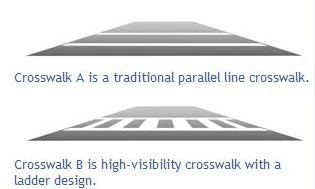 Pedestrian crosswalks